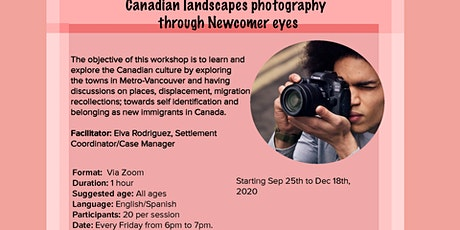 BNH Canadian landscapes photography through Newcomer eyes (Burnaby, BC) billets