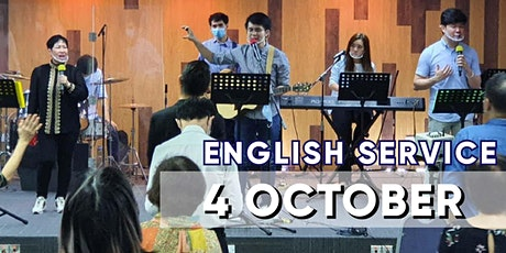 English Sunday Service - 4 OCTOBER tickets