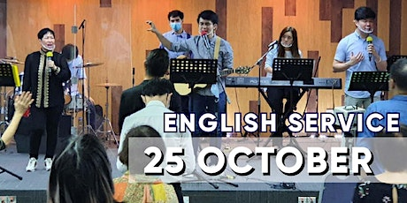 English Sunday Service - 25 OCTOBER tickets