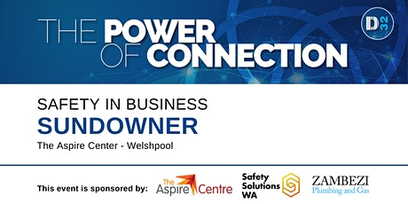 District32 Safety In Business Sundowner - Fri 09th Oct tickets