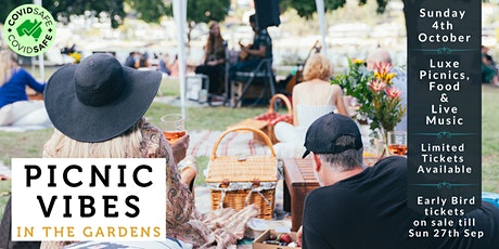 Picnic Vibes in the Gardens tickets
