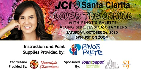 Cover the Canvas  Along with Jessica Chambers of JCI Santa Clarita tickets