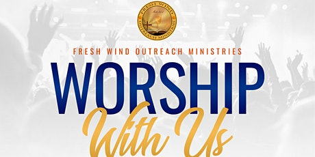 Worship with us! tickets