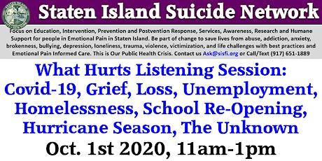 Staten Island Suicide Network, Suicide Safe Sites, Zero Suicide Initiative tickets