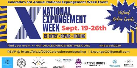Colorado Record Sealing Event - National Expungement Week 2020 tickets