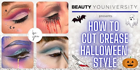 How to Cut Crease Halloween Style tickets