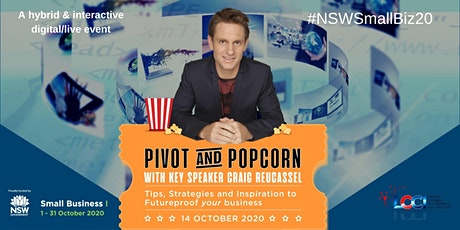 Pivot and Popcorn - Futureproof Your Business  with Craig Reucassel & LCCI tickets