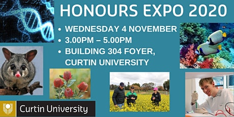 Honours Expo - with opportunities relating to agriculture and environment tickets