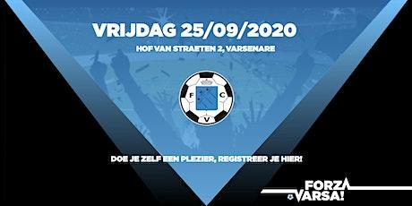 Matchday KFC Varsenare 25/09/2020 tickets
