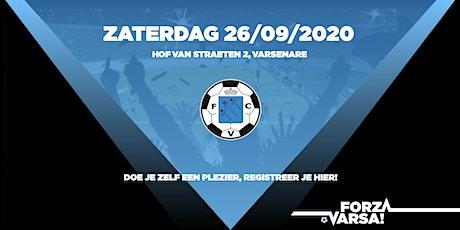 Matchday KFC Varsenare 26/09/2020 tickets