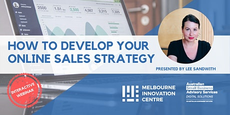 [WEBINAR] How to Develop Your Online Sales Strategy tickets