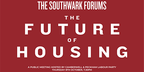 The Southwark Forums: The Future of Housing tickets