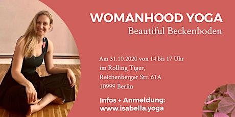 WOMANHOOD YOGA Beautiful Beckenboden Tickets