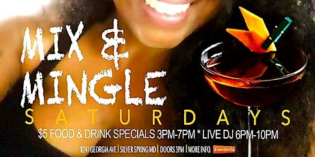 Mix & Mingle Saturdays tickets