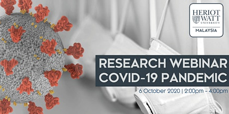 Research Webinar - COVID-19 Pandemic tickets
