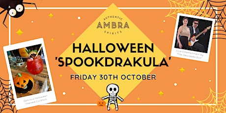 Ambra Presents a 'Spookdrakula' Halloween Experience tickets