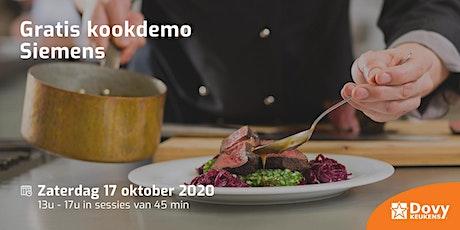 Gratis kookdemo Siemens op 17/10 - Dovy Dendermonde tickets