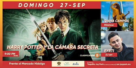 HARRY POTTER Y LA CÁMARA SECRETA boletos