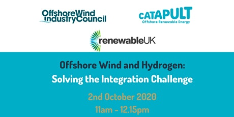 Offshore Wind and Hydrogen: Solving the Integration Challenge tickets