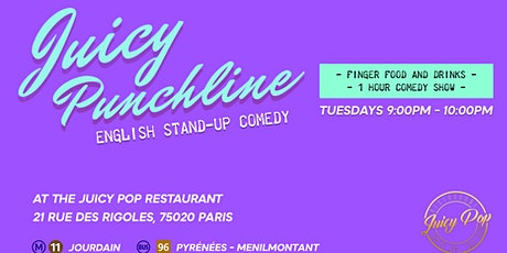 The Juicy Punchline Comedy #6 tickets