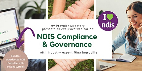 NDIS Compliance and Governance - What's Next (includes FREE resource) tickets