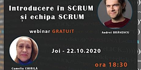 Introducere Scrum și Echipa Scrum tickets