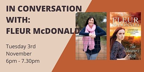 Meet The Author: Fleur McDonald tickets