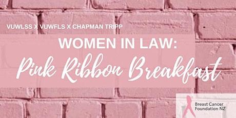 VUWLSS  x VUWFLS x Chapman Tripp: Pink Ribbon Breakfast tickets
