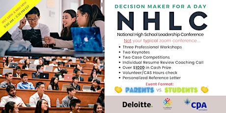 National High School Leadership Conference 2020 tickets