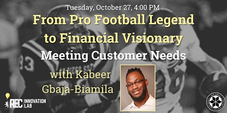 From Pro Football Legend to Financial Visionary -  with Kabeer Gbaja-Biamil tickets