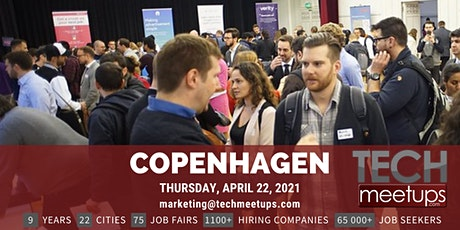 Copenhagen Tech Job Fair Spring 2021 By Techmeetups entradas