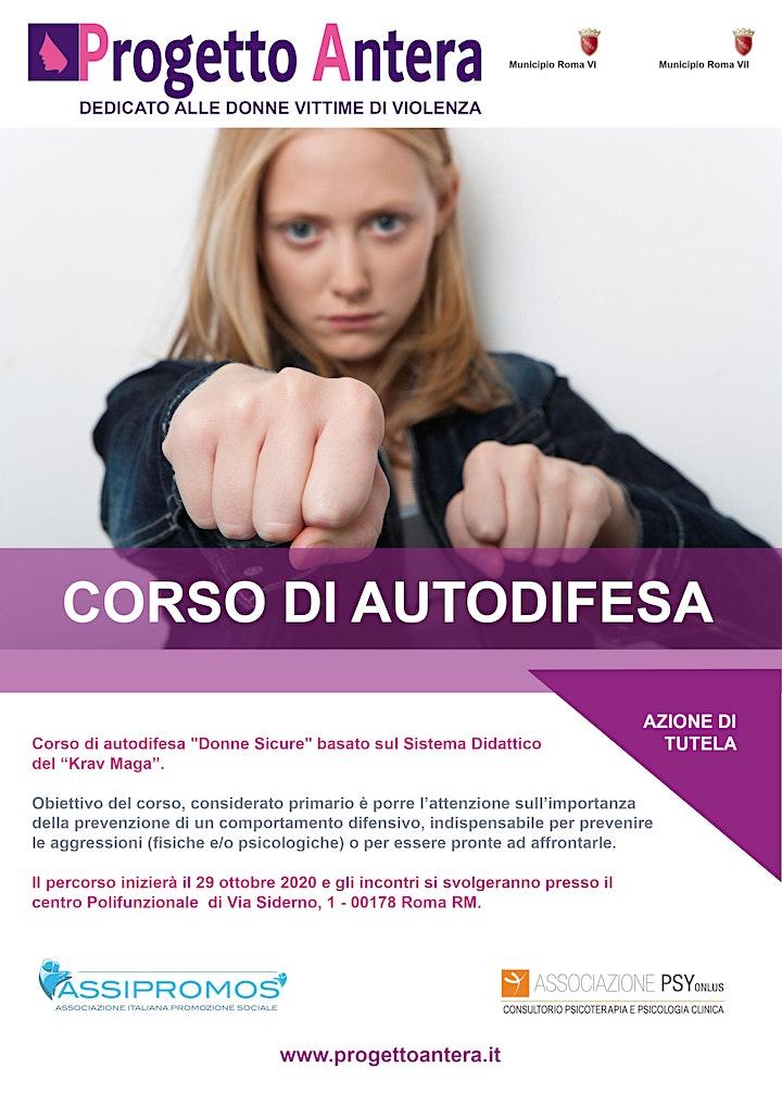 """Immagine CORSO DI AUTODIFESA """"DONNE SICURE"""" - Progetto Antera * GRATUITO"""