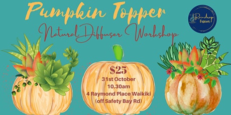 Natural Diffusing Pumpkin Topper Workshop tickets