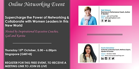 Supercharge the Power of Networking with Women Leaders in this New World tickets
