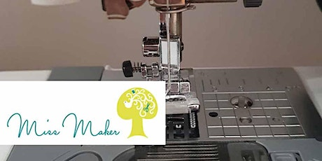 Miss Maker - Set up your Sewing Machine, Top Tips for tangle free sewing tickets