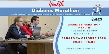 """Diabetes Marathon Health """"oltre il tempo e lo spazio"""" biglietti"""