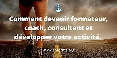 Comment devenir formateur, coach, consultant et développer son activité. billets