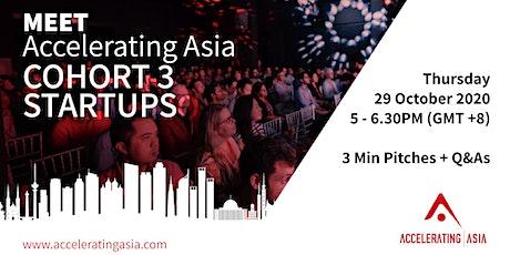 Accelerating Asia: Meet Cohort 3 tickets