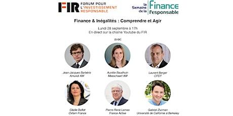 Finance & Inégalités : Comprendre et Agir billets