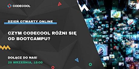 Czym Codecool różni się od bootcampu? Open Day Online tickets