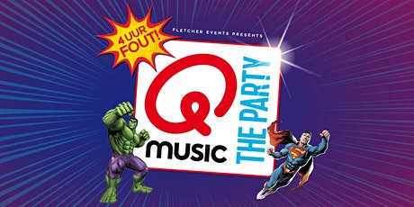 Qmusic the Party XL - 4uur FOUT! in Zeegse (Drenthe) 05-03-2022 tickets