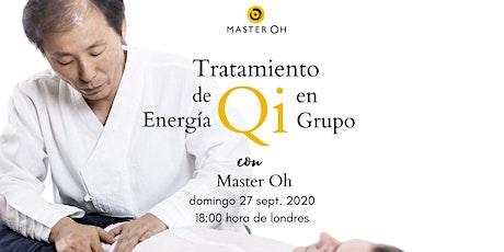 Tratamiento de Energía Qi en Grupo con Master Oh boletos