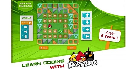 Learn Coding Online Free Demo Session - Age 6+ Tickets