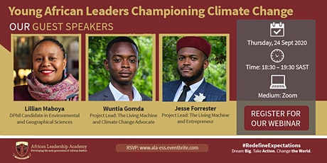 ALA EXECUTIVE SEMINAR - YOUNG AFRICAN LEADERS CHAMPIONING CLIMATE CHANGE tickets
