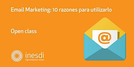 Email Marketing: 10 razones para utilizarlo. entradas