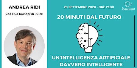 20 minuti dal futuro con Andrea Ridi biglietti