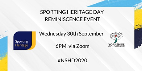 Sporting Heritage Day Reminiscence Event tickets