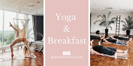 Yoga & Breakfast at Elements Spa biljetter