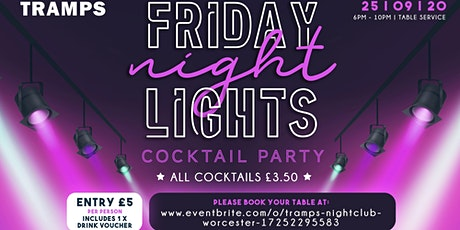 Friday Night Lights - Cocktail  Party tickets