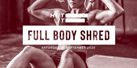 HIIT It: Full Body Shred by Mossab tickets